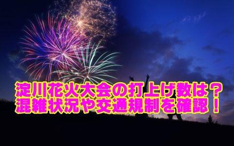 なにわ淀川花火大会2018は何発上る?混雑状況とアクセス・交通規制を確認!